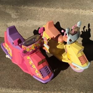 ✨Vintage 80s Mattel Barbie Scooters, Rare, Gift✨